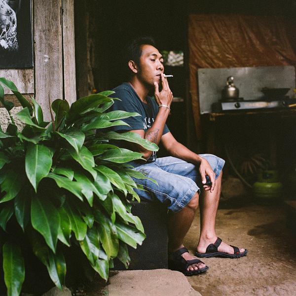 08.2014_ Bali, a hollow portrait